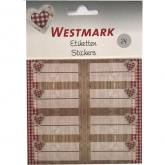 Decorative Labels 24 pcs